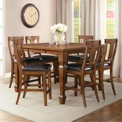 Sam's Club – Parker Counter Height Dining Set (7 Pc (View 14 of 25)
