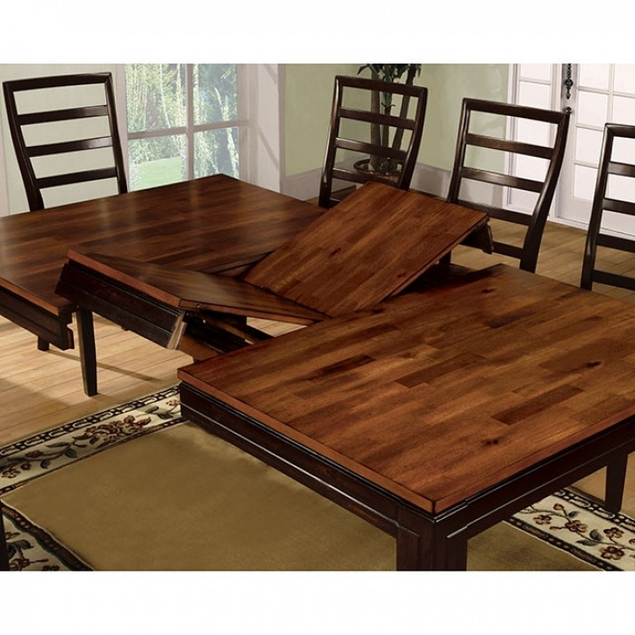 San Isabel Dining Table In Acacia/espresso – Shop For Affordable Regarding Acacia Dining Tables (View 10 of 25)