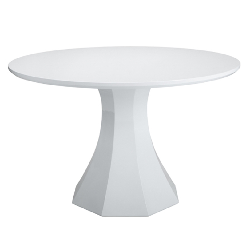 Sanara High Gloss White Round Dining Table | Buy Other Tables Throughout High Gloss Round Dining Tables (View 16 of 25)