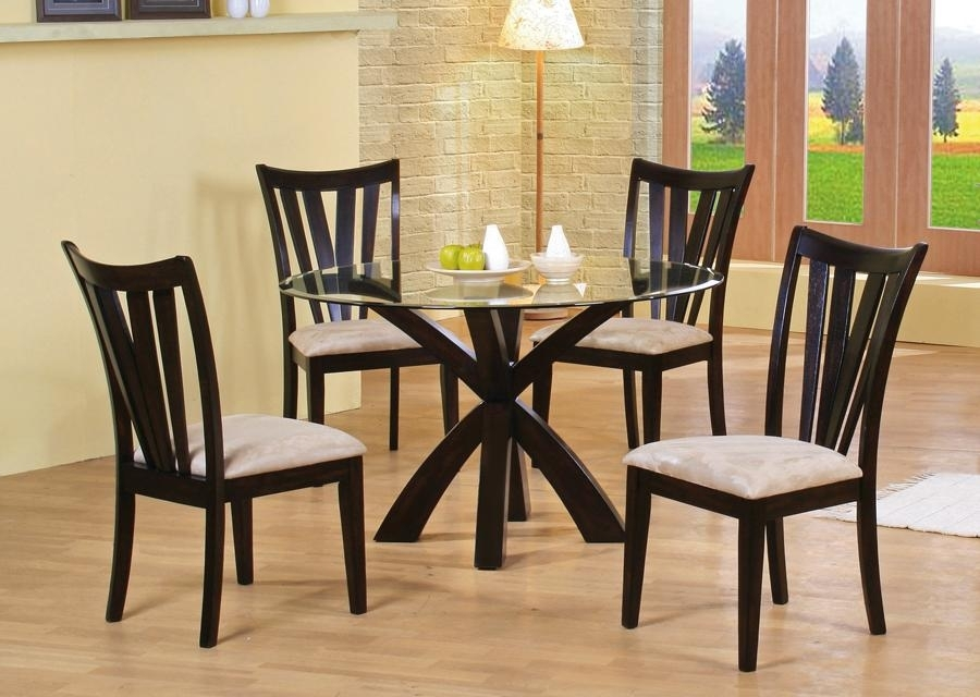 Santa Clara Furniture Store, San Jose Furniture Store, Sunnyvale Intended For Craftsman 5 Piece Round Dining Sets With Uph Side Chairs (Image 20 of 25)