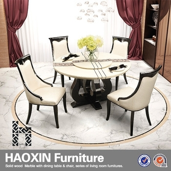 Saudi Arabia Round Marble Dining Table And Chairs For Sale` – Buy With Buy Dining Tables (Image 24 of 25)