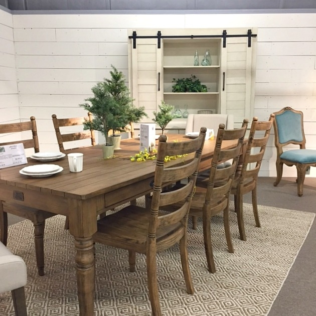 Savvy Southern Style : Magnolia Home Line In Person Intended For Magnolia Home Keeping Dining Tables (View 10 of 25)