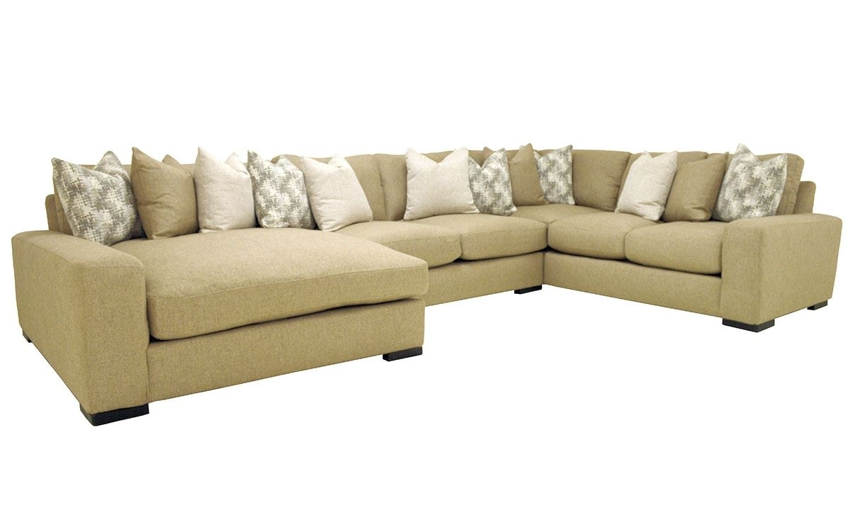 Sawyer 3 Pc Sectional Sofa With Oversized Chaise | The Dump Luxe Inside Norfolk Grey 6 Piece Sectionals With Laf Chaise (View 9 of 25)