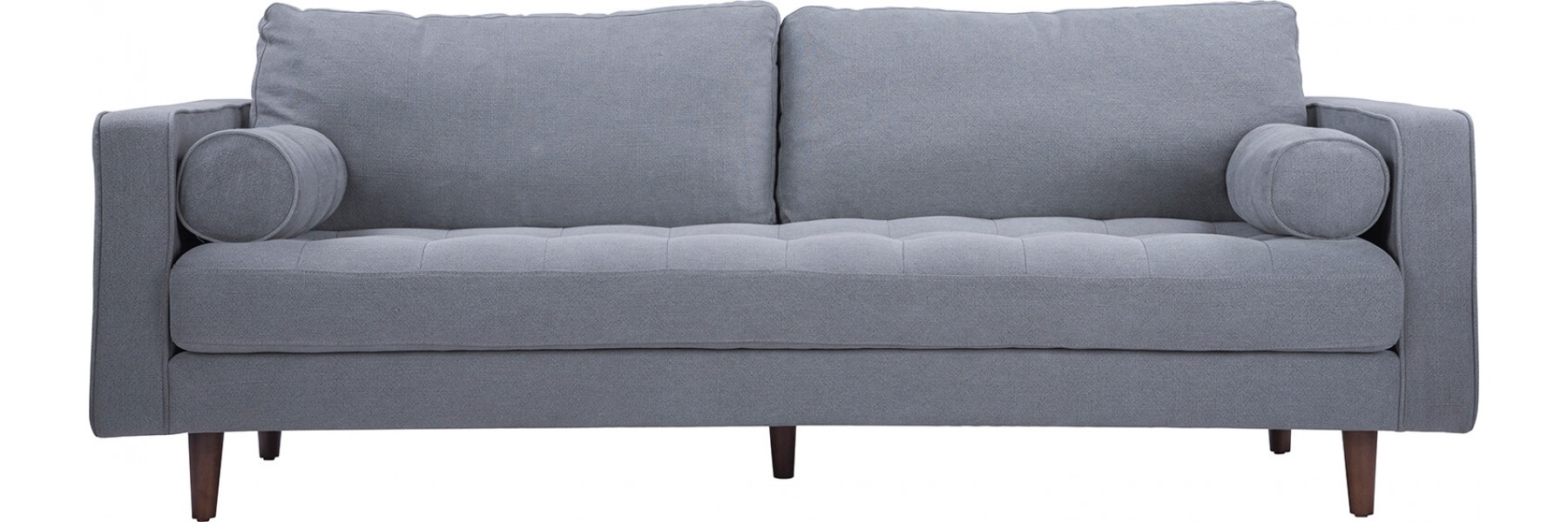 Sawyer Sofa Stoned Slate Pertaining To Nico Grey Sectionals With Left Facing Storage Chaise (Image 21 of 25)