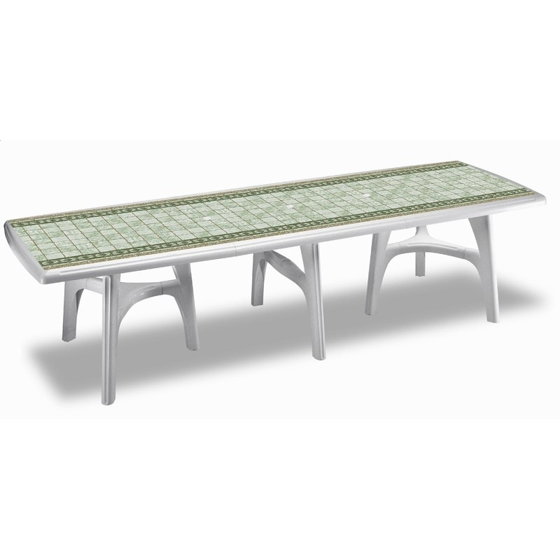 Scab President 300Cm Extending Outdoor Dining Table | Wayfair.co (Image 22 of 25)