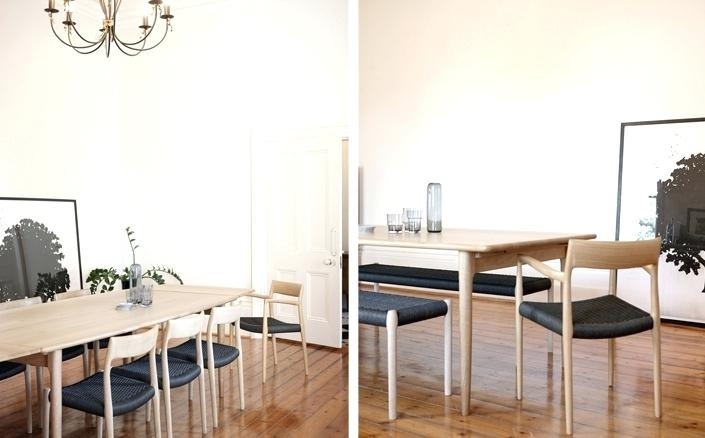 Scandinavian Dining Room Chairs Magnificent Ideas Dining Table Inside Scandinavian Dining Tables And Chairs (View 18 of 25)