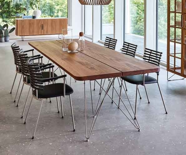 Scandinavian Dining Tables | Wharfside Furniture Uk Throughout Danish Style Dining Tables (Image 17 of 25)