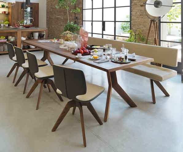 Scandinavian Dining Tables | Wharfside Furniture Uk With Danish Style Dining Tables (Image 18 of 25)