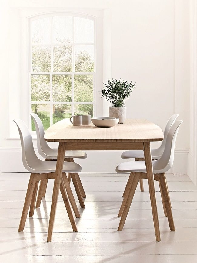 Featured Photo of Scandinavian Dining Tables And Chairs