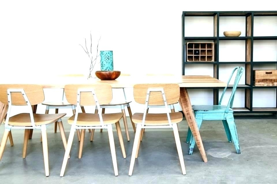 Scandinavian Style Dining Table Tables Best Ideas On Intended For D throughout Danish Style Dining Tables