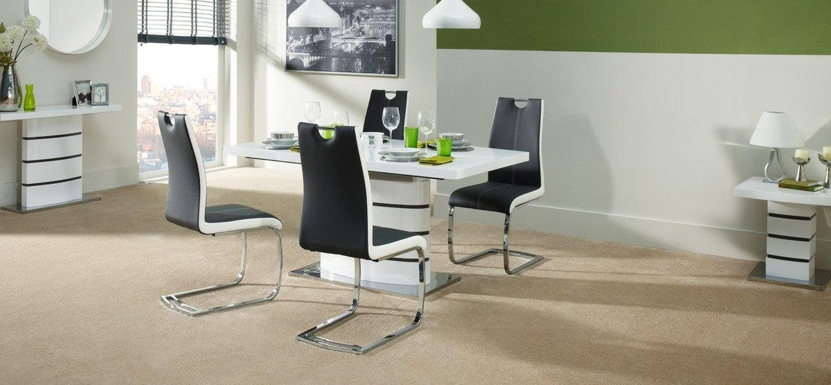 "Scs Sofas On Twitter: ""this Sleek Soho Dining Table And 4 Chairs Is Intended For Scs Dining Furniture (View 15 of 25)"