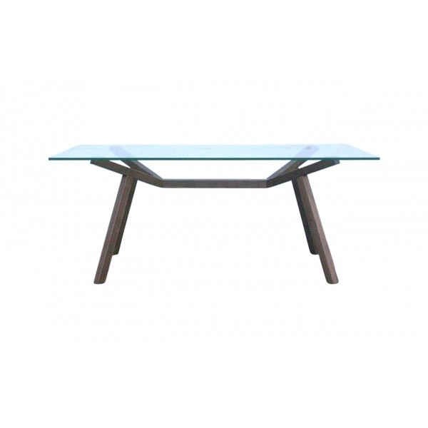 Sean Dix Forte Dining Table Walnut Original 180Cm Pertaining To 180Cm Dining Tables (View 15 of 25)