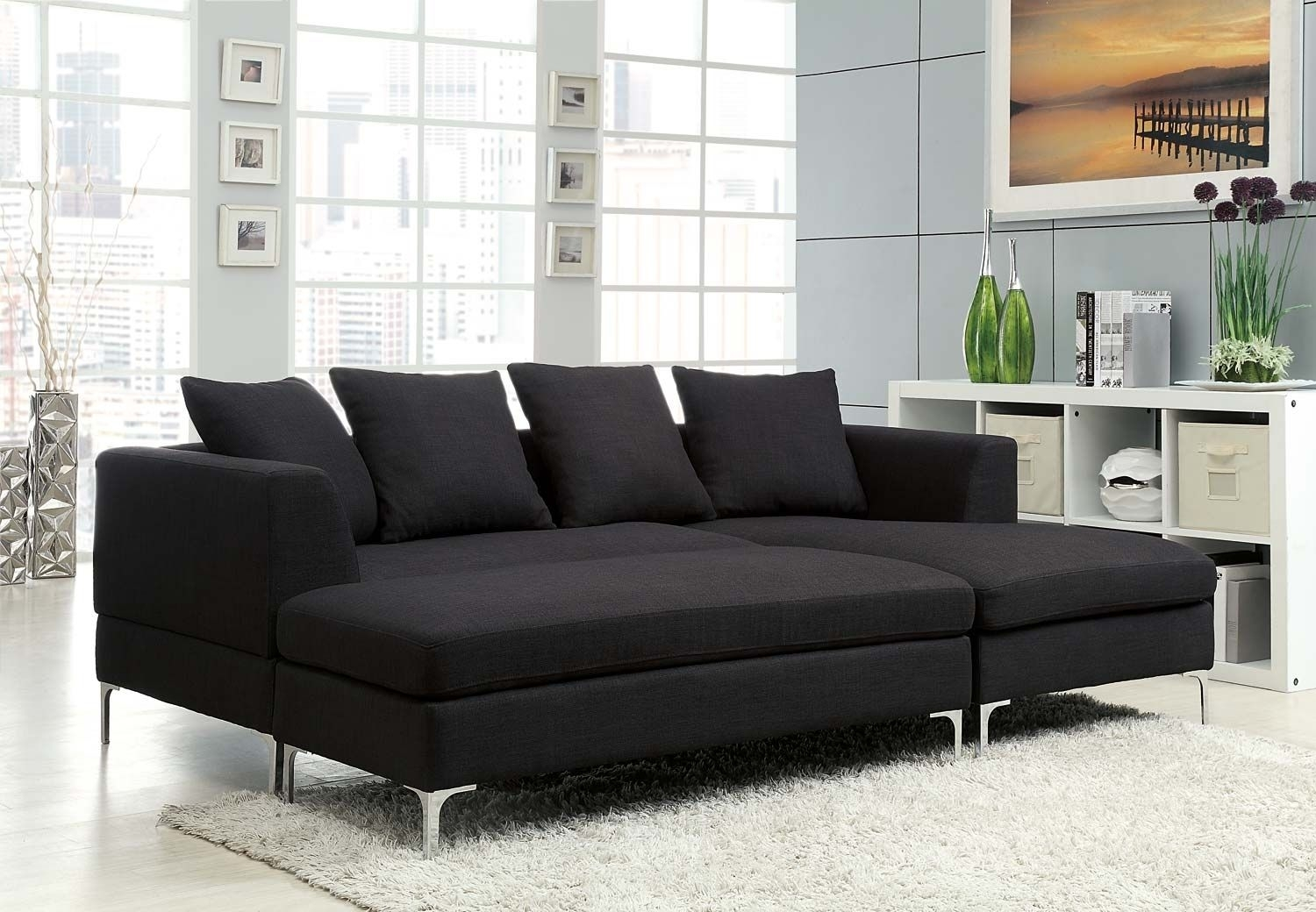 Sears Burton Sectional Sofa | Acrylics | Pinterest Inside Burton Leather 3 Piece Sectionals (Image 15 of 25)