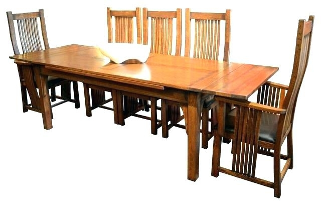 Sears Dining Table Set Craftsman Dining Table Related Post Sears Regarding Craftsman Round Dining Tables (View 6 of 25)