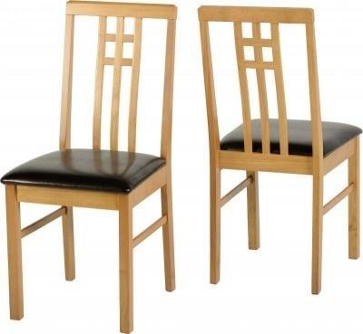 Seconique Vienna Medium Oak Dining Chair – Dining Chairs And Benches Regarding Oak Dining Chairs (Image 21 of 25)