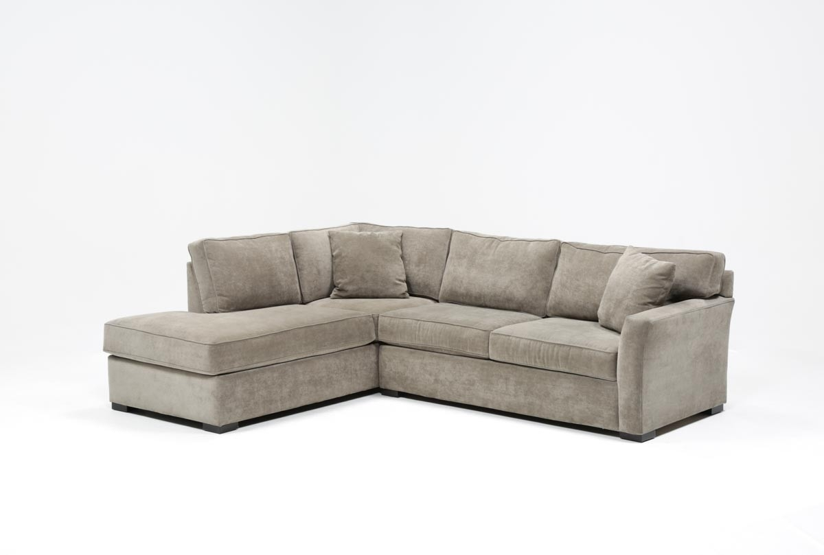 Sectional Sleepers Aspen 2 Piece Sleeper W Laf Chaise Living Spaces Intended For Aspen 2 Piece Sectionals With Laf Chaise (View 2 of 25)