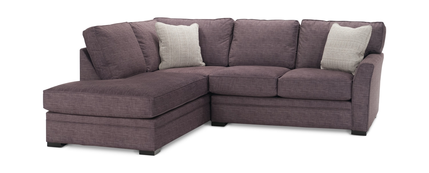 Sectional Sofas – Living Room Seating – Hom Furniture Inside Jobs Oat 2 Piece Sectionals With Left Facing Chaise (Image 22 of 25)