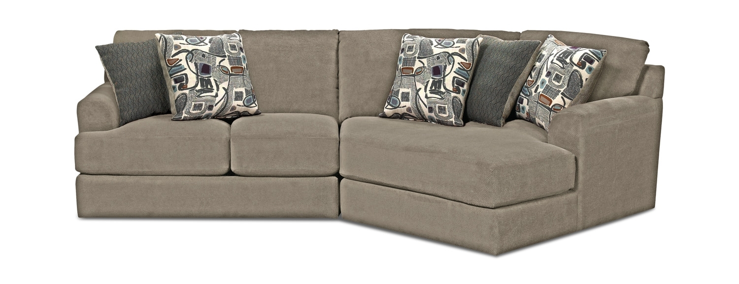 Sectional Sofas – Living Room Seating – Hom Furniture Within Tess 2 Piece Power Reclining Sectionals With Laf Chaise (Image 10 of 25)