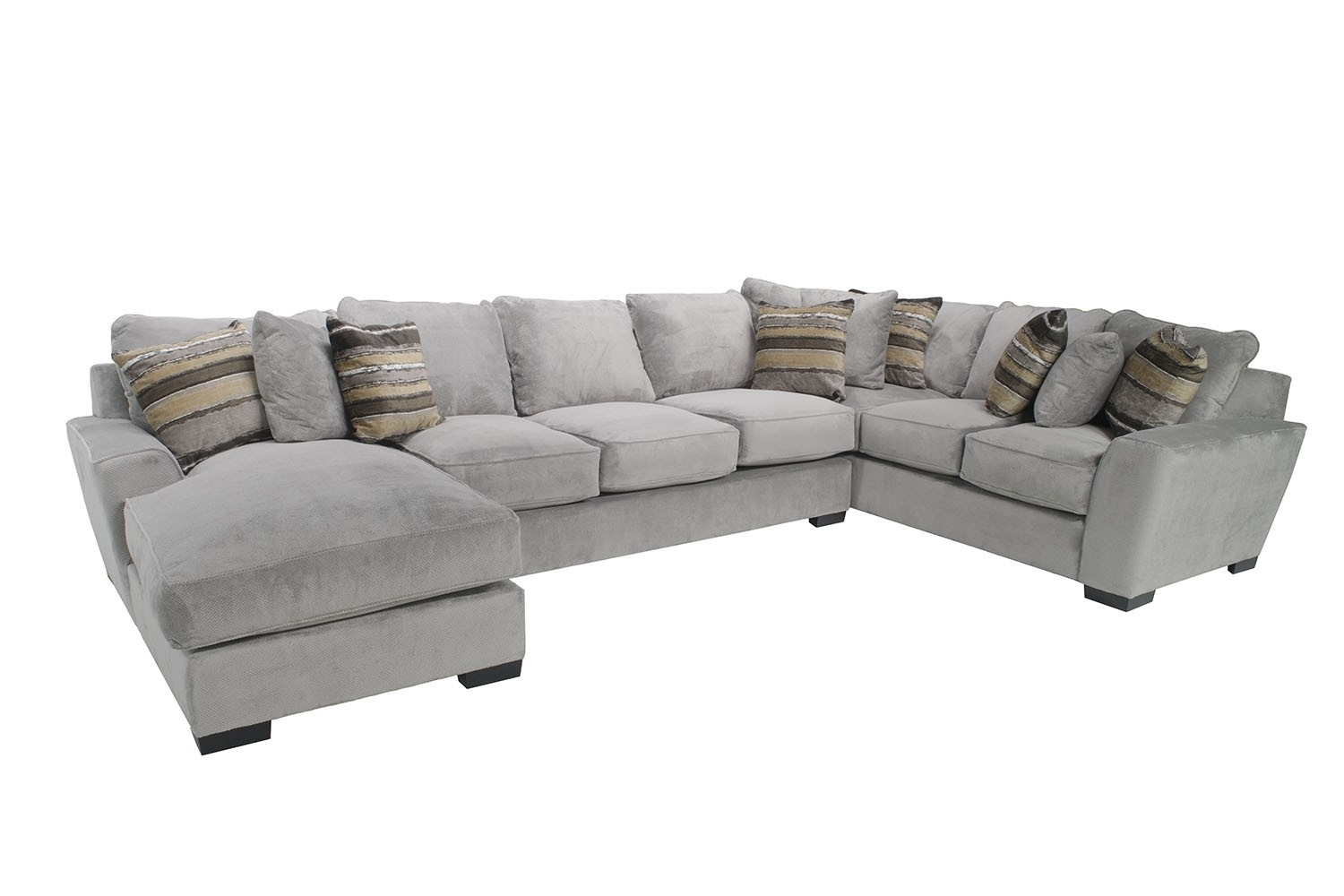 Sectional Sofas | Save Mor Online And In Store In Meyer 3 Piece Sectionals With Laf Chaise (Image 22 of 25)