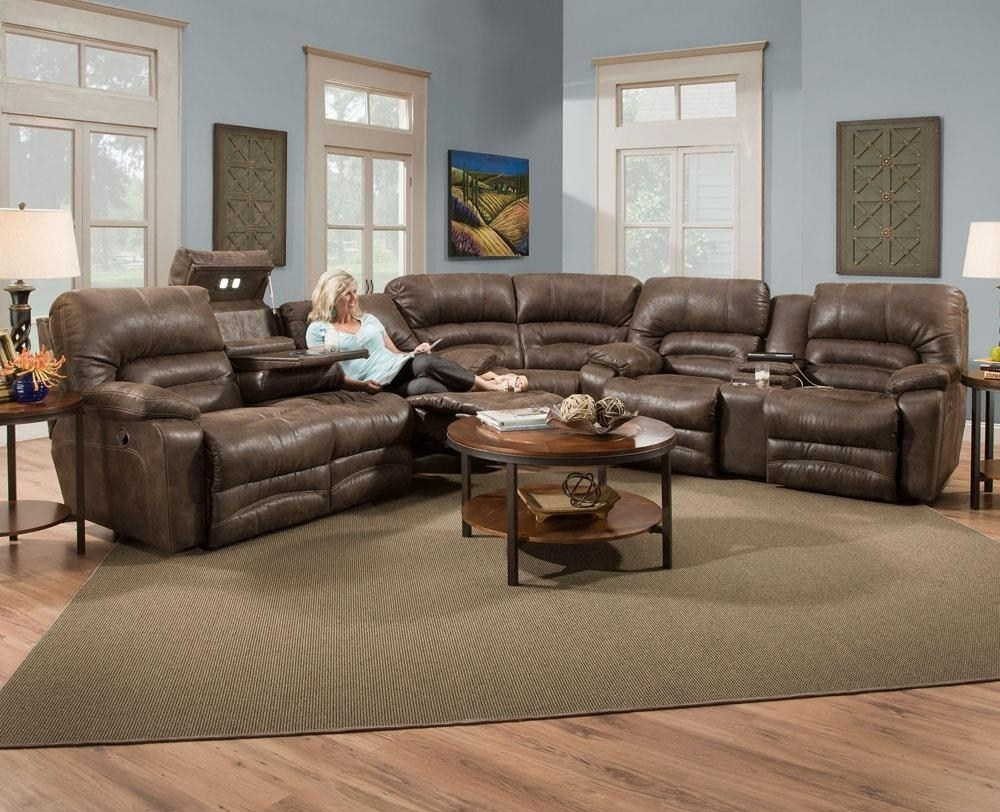 Sectional With Recliner Console Loveseat | Www (Image 19 of 20)