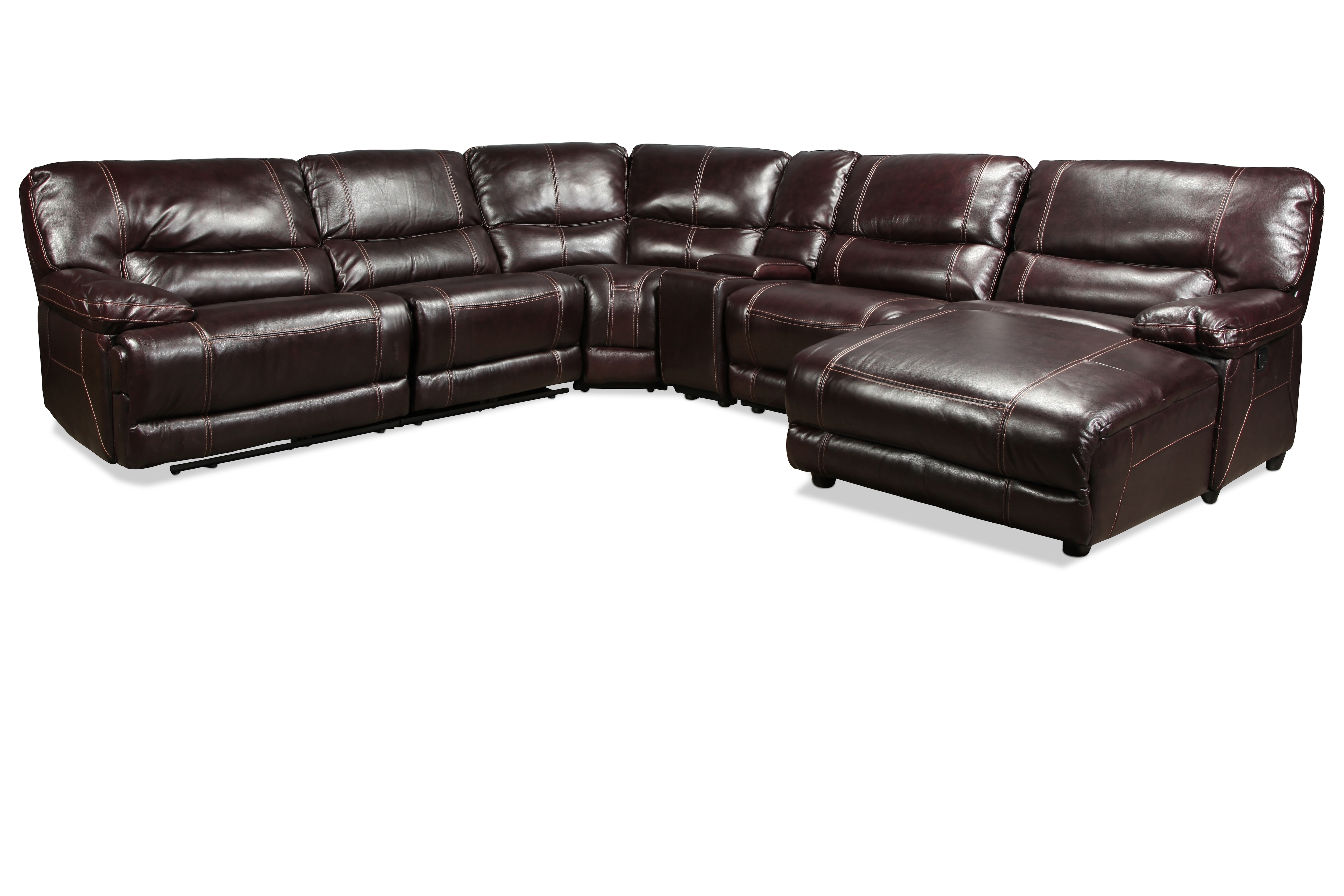 Sectionals | Levin Furniture Intended For Jackson 6 Piece Power Reclining Sectionals With  Sleeper (Image 22 of 25)