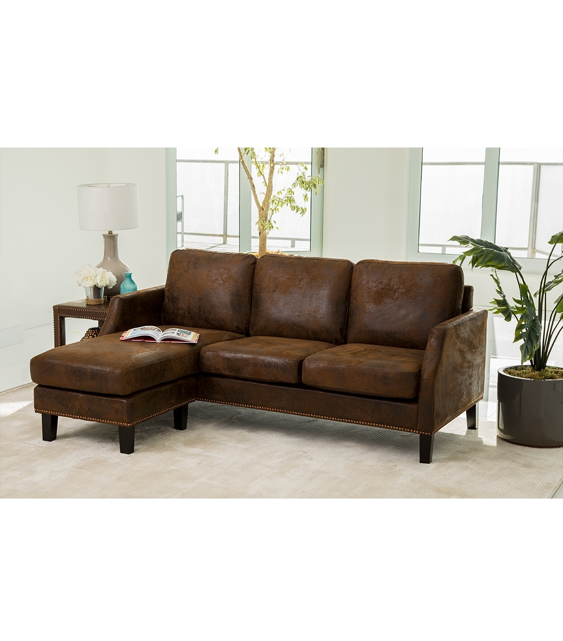 Sectionals Pertaining To Delano 2 Piece Sectionals With Laf Oversized Chaise (Image 24 of 25)
