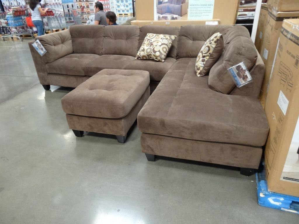Sectionals Sofas Costco | Home Decoration Club In Burton Leather 3 Piece Sectionals With Ottoman (Image 20 of 25)