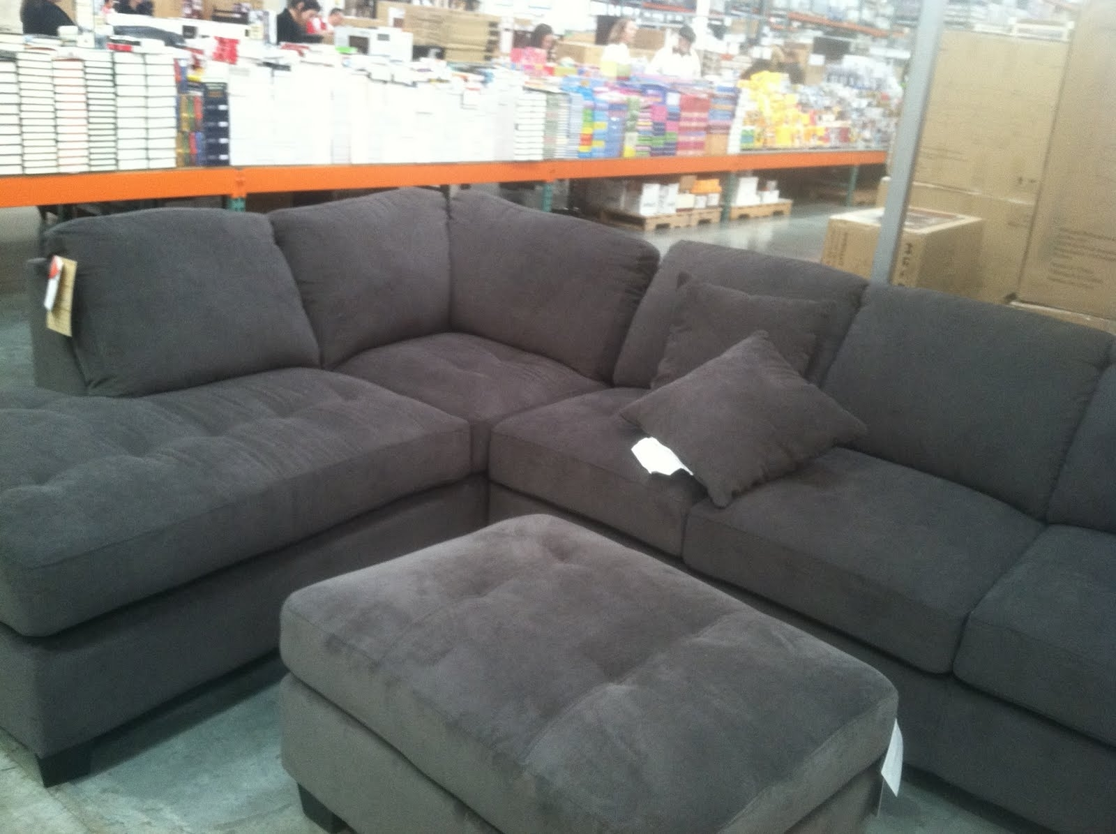 Sectionals Sofas Costco | Home Decoration Club With Regard To Burton Leather 3 Piece Sectionals (Image 19 of 25)