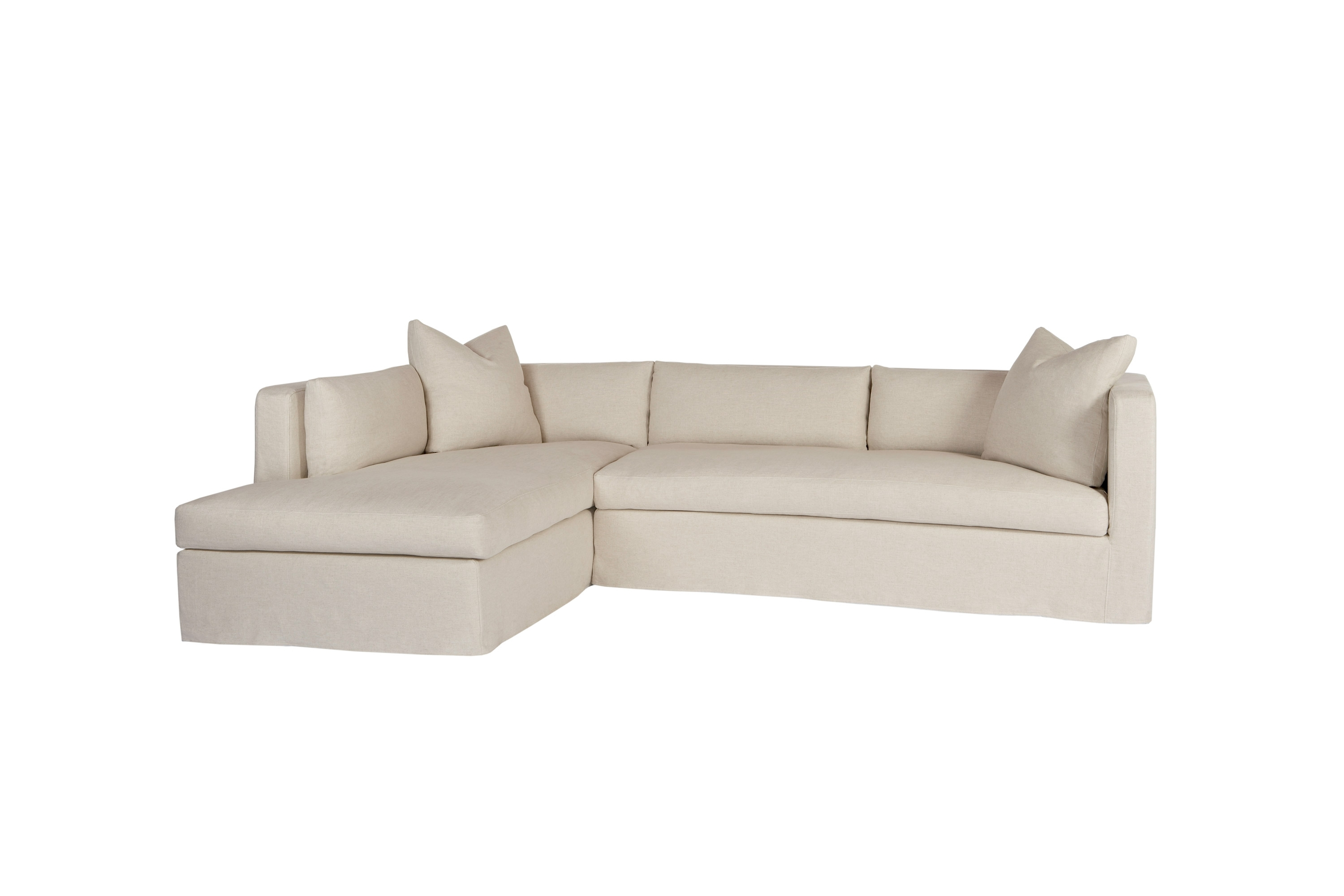 Sectionals With Jobs Oat 2 Piece Sectionals With Left Facing Chaise (Image 24 of 25)
