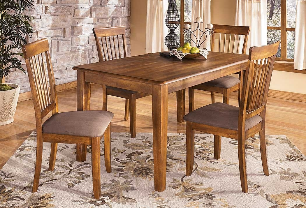 Select Imports Furniture And Decor Berringer Rectangular Dining Room With Regard To Craftsman 9 Piece Extension Dining Sets With Uph Side Chairs (View 20 of 25)