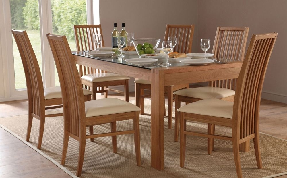 Selecting Designer Dining Table And Chair Set – Blogbeen Intended For 6 Chairs Dining Tables (View 10 of 25)