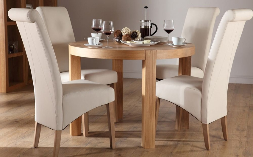 Selecting Designer Dining Table And Chair Set – Blogbeen Throughout Compact Dining Tables And Chairs (Image 18 of 25)