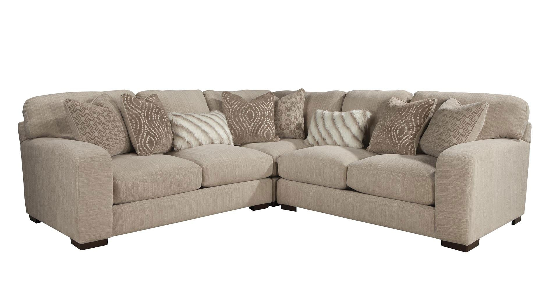Serena Modular Sectional (Oyster) – Living Room Furniture – Living Inside Jackson 6 Piece Power Reclining Sectionals (View 21 of 25)