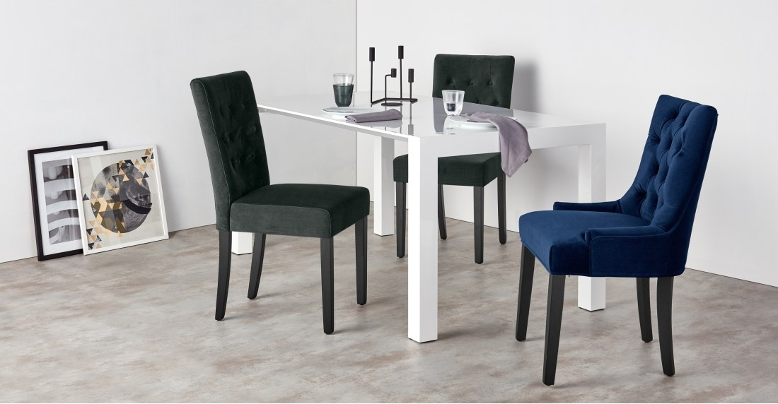 Featured Image of Velvet Dining Chairs