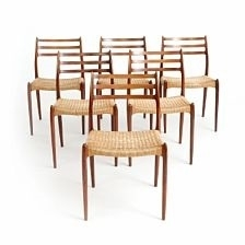 Set Of Six Dining Chairs With Frame Of East Indian Rosewoodniels Pertaining To Indian Dining Chairs (Image 18 of 25)