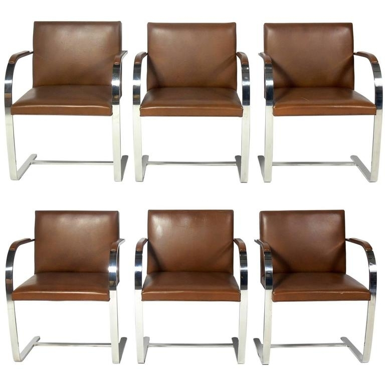 Featured Image of Chrome Leather Dining Chairs