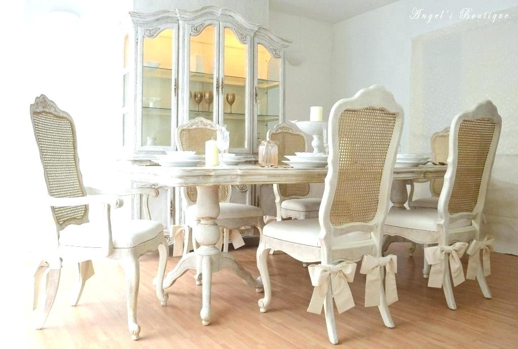 Shabby Chic Dining Room Chairs The Best Chic Dining Chairs Ideas On With Shabby Chic Dining Sets (View 25 of 25)