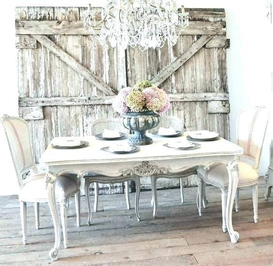 Shabby Chic Dining Table And Chairs – Pinklemonblog Inside Shabby Chic Dining Sets (View 16 of 25)