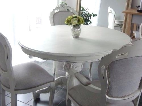 Shabby Chic Dining Table And Chairs Shabby Chic Dining Room Chair Pertaining To Shabby Chic Dining Sets (Image 18 of 25)