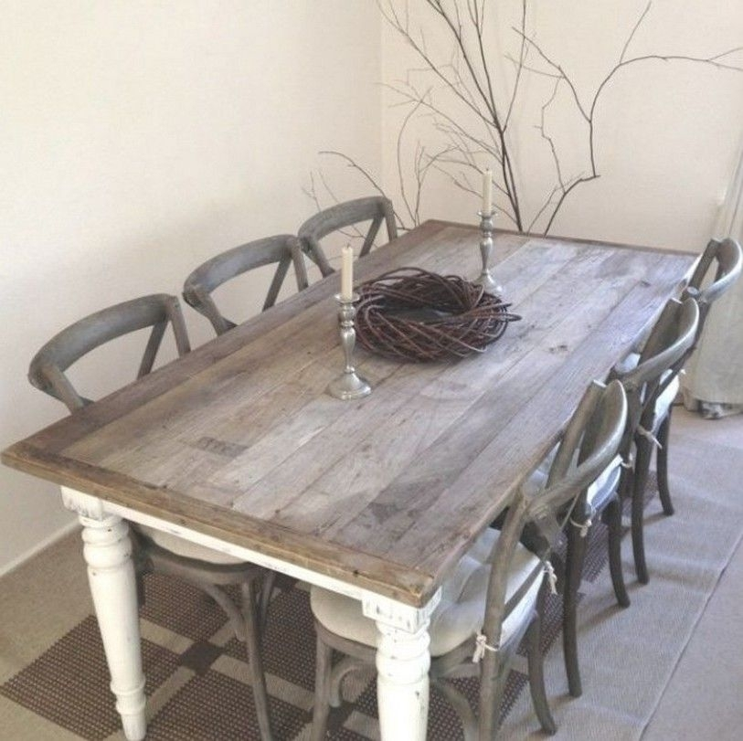 Featured Image of Shabby Dining Tables And Chairs