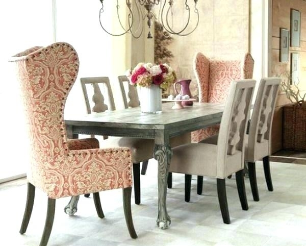 Shabby Chic Dining Table Chairs Shabby Chic Round Dining Table And For Shabby Dining Tables And Chairs (View 14 of 25)