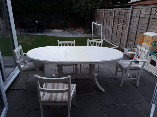 Shabby Chic Dining Table – Local Classifieds In Sheffield, South Pertaining To Shabby Chic Extendable Dining Tables (Image 12 of 25)