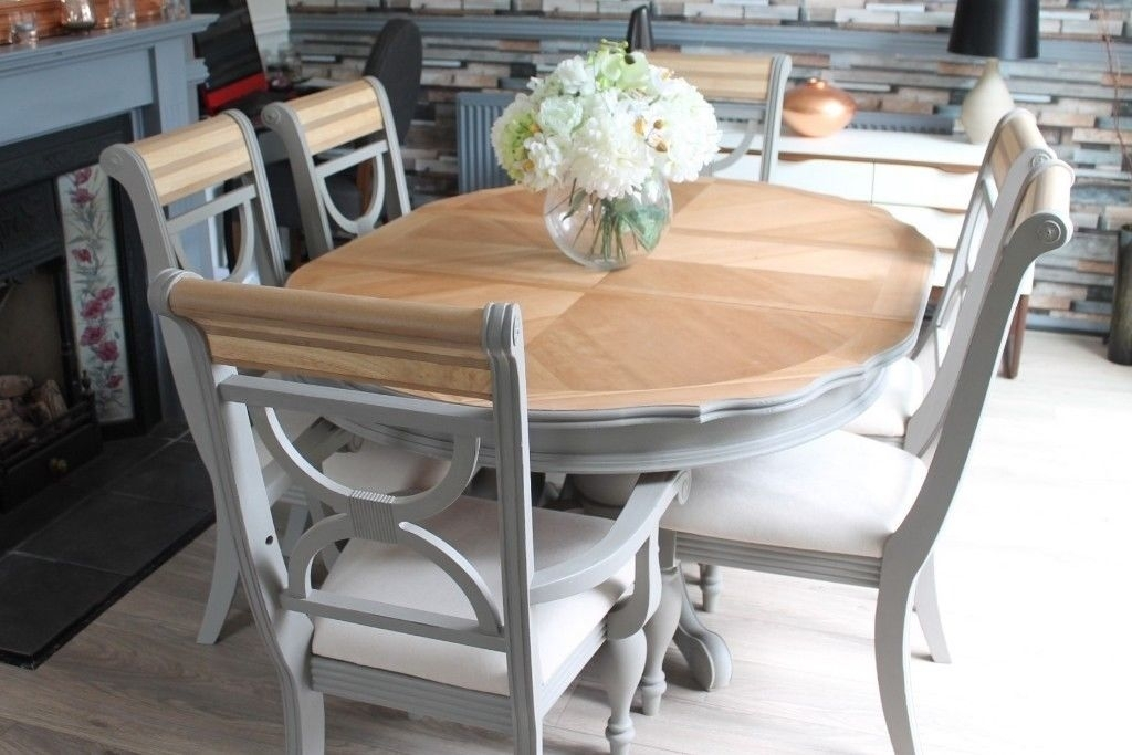 Shabby Chic Extending Dining Tables – Dining Tables Ideas With Shabby Chic Extendable Dining Tables (Image 22 of 25)