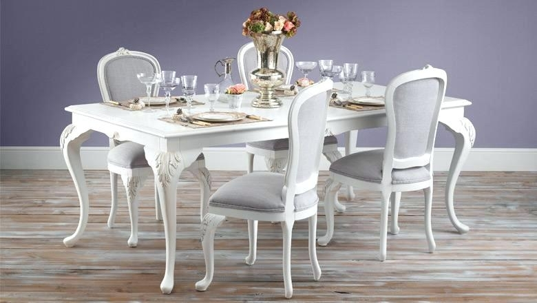 Shabby Chic Round Dining Table Chic Dining Table Image Of Shabby Within Shabby Chic Dining Chairs (View 15 of 25)