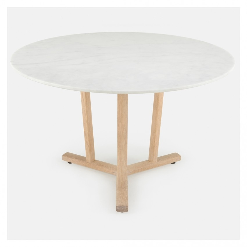Shaker Dining Table Round White Oak – The Conran Shop Pertaining To Round White Dining Tables (View 22 of 25)