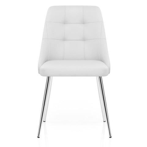 Shanghai Dining Chair White – Atlantic Shopping Throughout White Dining Chairs (Photo 7 of 25)