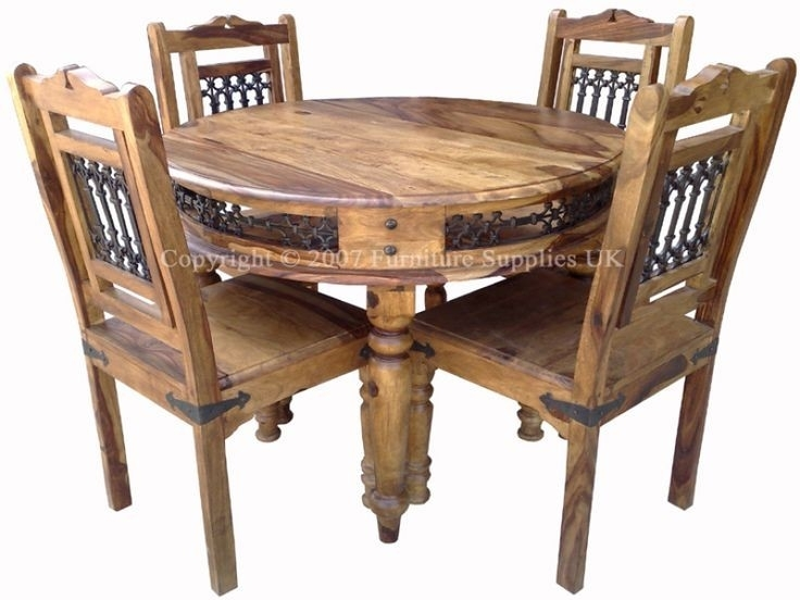 Sheesham Dining Table – Table Choices Within Sheesham Dining Tables And Chairs (Image 19 of 25)