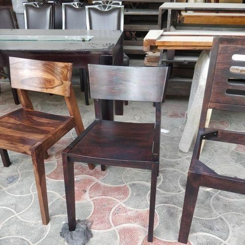 Sheesham Wood Dining Chair, Lakdi Ki Dining Room Ki Kursi – Rustic For Sheesham Wood Dining Chairs (Image 19 of 25)