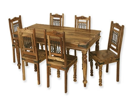Sheesham Wood Dining Table Set At Rs 34500 /set | Wooden Dining Throughout Sheesham Wood Dining Tables (View 15 of 25)
