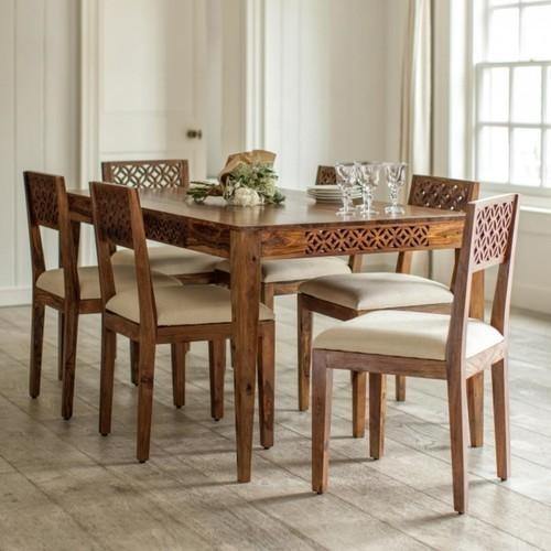 Sheesham Wood Dining Table Set At Rs 65000 /set | Jodhpur | Id Intended For Sheesham Wood Dining Tables (Image 22 of 25)